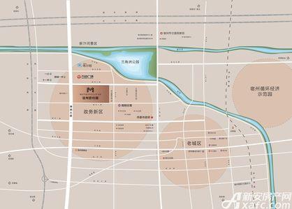 宿州碧桂园交通图