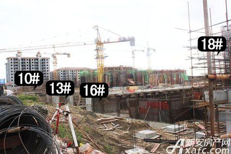 航辰北城国际工程进度