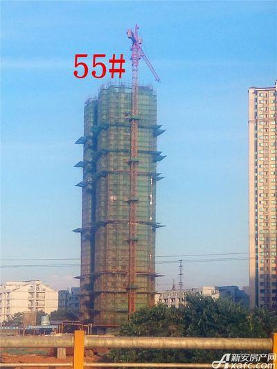 恒大绿洲55#楼项目进度(2017.7.25)