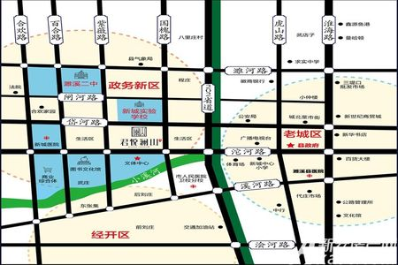 融翔·君悦澜山交通图
