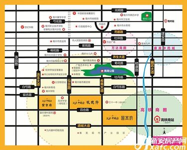 远大中国府国宾府交通图