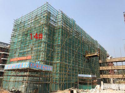 宇业天逸华府14#工程进度(2017.7.28)