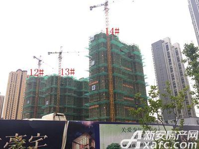 荣盛西湖观邸12-14#工程进度(2017-7)