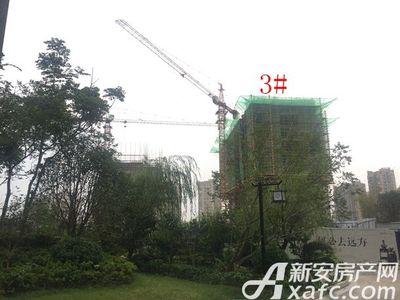 荣盛西湖观邸3#工程进度(2017-7)