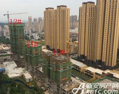荣盛西湖观邸10-12#工程进度(2017-7)