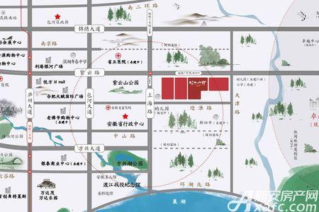 紫云赋·江山印交通图