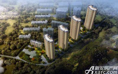 淮北凤凰城三期鸟瞰图