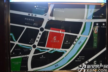 南河福龙湾交通图