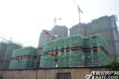 聚泽园·淮海学府6#工程进度(2017.7)