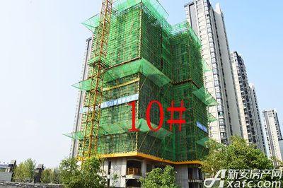 天都首郡7月进度:10#建至地面14层(2017.7.27)