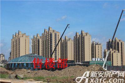 恒大珺睿府售楼部工程进度2017.7