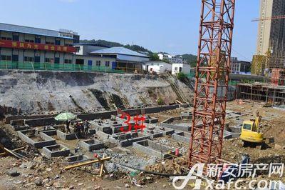 润城豪园3#高层地基在建【20170803】