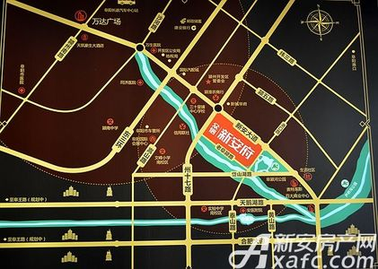 众信新安府交通图
