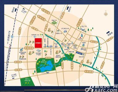 美的城交通图
