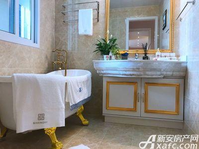 智慧锦城124㎡样板间洗手间 (2)