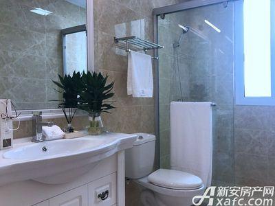 智慧锦城124㎡样板间洗手间