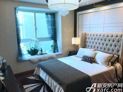 智慧锦城98㎡样板间卧室 (2)