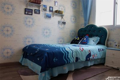 智慧锦城115㎡样板间儿童房