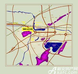 恒泰·山水文园交通图