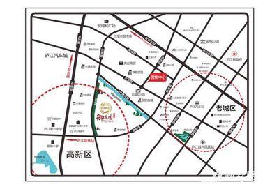 名城御花园项目区位图