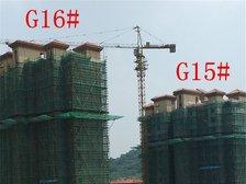 高速铜都天地G15#、G16#楼栋进度(2017.8.11)