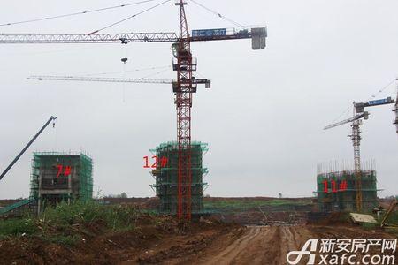 奥青城翠湖园工程进度