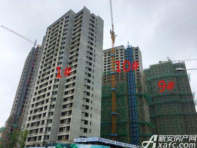 融创城1#9#10#楼工程进度(2017.08.12)