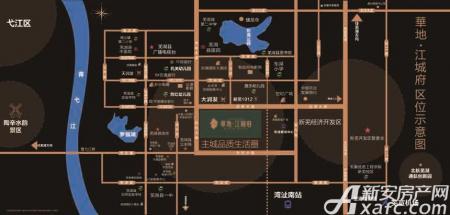 华地·江城府交通图