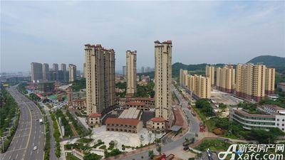 高速铜都天地GY1、GY2(公寓)航拍实景