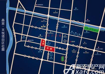 晶宫天悦交通图