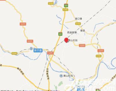 恒大悦府项目地图标注