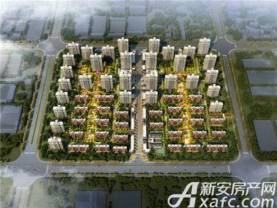 北京城建国誉锦城鸟瞰日景