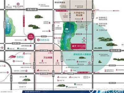 蓝光林肯公园交通图