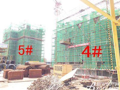 绿地滨江壹号8月施工现场(2017.8.16)