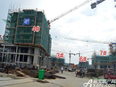 宜秀蓝湾3#4#6#7#工程进度(2017.8.17)