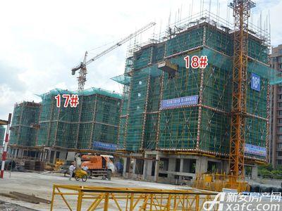 宜秀蓝湾17#、18#工程进度(2017.8.17)