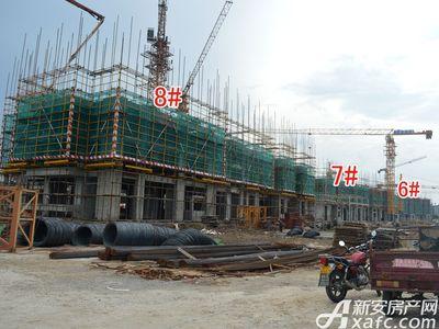 宜秀蓝湾6#、7#、8#工程进度(2017.8.17)