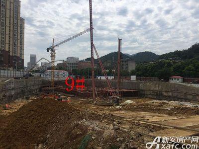 中航长江广场9#楼8月进度(2017.8.21)