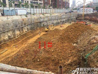 中航长江广场11#楼8月进度(2017.8.21)