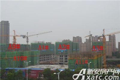 置地·康熙左岸A1#A2#A3#A9#A19#A11#楼工程进度(2017.8.22)