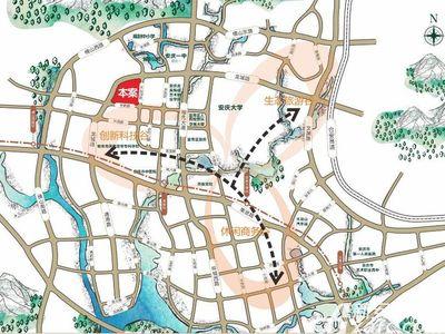 北城秀里交通图