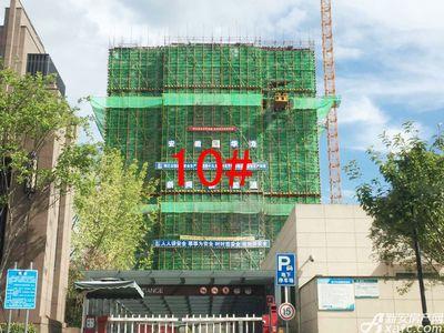 天都首郡8月施工进度,10#建至地上17层(2017.8.22)