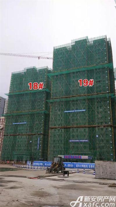 大发宜景城18-19#号楼在建中2017.8