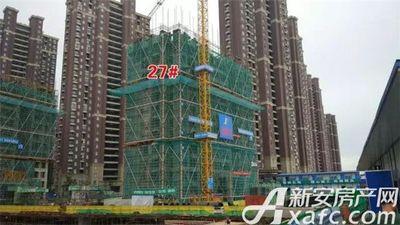 大发宜景城27#号楼在建中2017.8