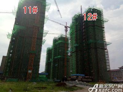 大地凤凰城11#、12#工程进度(2017.8.17)