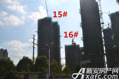 秀山信达城15#工程进度(2017.8.14)