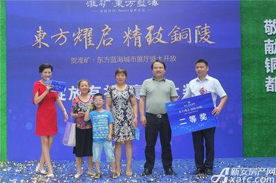 淮矿东方蓝海城市展厅开放(2017.8.26)