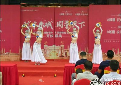 北京城建珑樾华府营销中心开放(8.26)