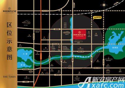 碧桂园·时代之光交通图