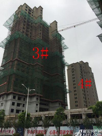 华源七星城3#、4#楼8月进度(2017.8.28)